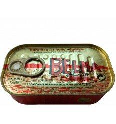 Sardine à l'huile végétale BELMA - 125ml