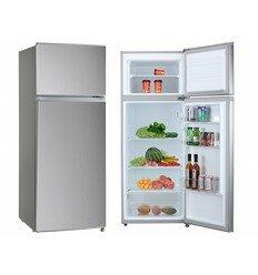 MIDEA Réfrigérateur 2 battants HD-273F – 207 Litres – A++, Gris